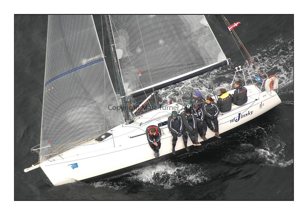 The Brewin Dolphin Scottish Series, Tarbert Loch Fyne..IRL9292 niJinsky Salcombe YC J92s Robert Yates..