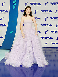 Lorde at the 2017 MTV Video Music Awards held at the Forum in Inglewood, USA on August 27, 2017.