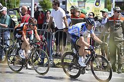June 17, 2017 - Schaffhausen, Schweiz - Schaffhausen, 17.06.2017, Radsport - Tour de Suisse, Nick Van der Lijke und Lasse Norman Hansen an der Tour de Suisse. (Credit Image: © Melanie Duchene/EQ Images via ZUMA Press)