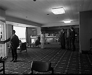 15-16/07/1970<br /> 07/15-16/1970<br /> 15-16 July 1970<br /> View of the reception of the Tara Towers Hotel, Merrion Road, Dublin.