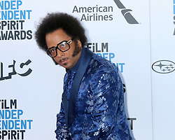 February 23, 2019 - Santa Monica, CA, USA - LOS ANGELES - FEB 23:  Boots RIley at the 2019 Film Independent Spirit Awards on the Beach on February 23, 2019 in Santa Monica, CA (Credit Image: © Kay Blake/ZUMA Wire)
