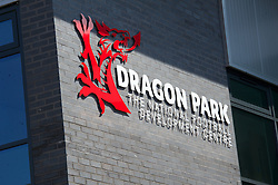 NEWPORT, WALES - Saturday, April 20, 2013: Dragon Park… the FAW National Development Centre in Newport. (Pic by David Rawcliffe/Propaganda)