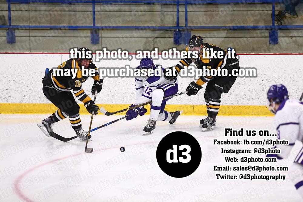 Men's Ice Hockey: University of St. Thomas (Minnesota) Tommies vs. St. Olaf College Oles