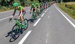 05.07.2017, Altheim, AUT, Ö-Tour, Österreich Radrundfahrt 2017, 3. Etappe von Wieselburg nach Altheim (226,2km), im Bild Nils Friedl (AUT, Hrinkow Advarics Cycleang), Florian Gaugl (AUT), Hrinkow Advarics Cycleang), Dominik Hrinkow (AUT, Hrinkow Advarics Cycleang) // Nils Friedl (AUT, Hrinkow Advarics Cycleang), Florian Gaugl (AUT), Hrinkow Advarics Cycleang), Dominik Hrinkow (AUT, Hrinkow Advarics Cycleang) during the 3rd stage from Wieselburg to Altheim (199,6km) of 2017 Tour of Austria. Altheim, Austria on 2017/07/05. EXPA Pictures © 2017, PhotoCredit: EXPA/ JFK
