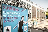 EYOF 2013, zwemmen, krommerijn Utrecht