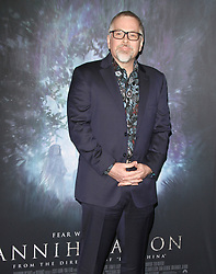Annihilation Los Angeles Premiere at The Regency Village Theatre in Westwood, California on 2/13/18. 13 Feb 2018 Pictured: Jeff VanderMeer. Photo credit: River / MEGA TheMegaAgency.com +1 888 505 6342