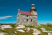 oldest granite lighthouse in Canada<br /> Rose Blanche<br /> Newfoundland<br /> Canada