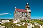 oldest granite lighthouse in Canada<br /> Rose Blanche<br /> Newfoundland<br /> Canada