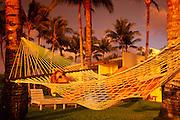 Woman in hammock<br />