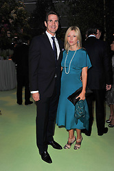 HRH CROWN PRINCE PAVLOS OF GREECE and HRH PRINCESS MARIE CHANTAL OF GREECE at a dinner hosted by Cartier in celebration of the Chelsea Flower Show held at Battersea Power Station, 188 Kirtling Street, London SW8 on 23rd May 2011.