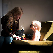 Gry Jakobsen lives in Thylejren, the oldest of Danish free towns, with her two kids.