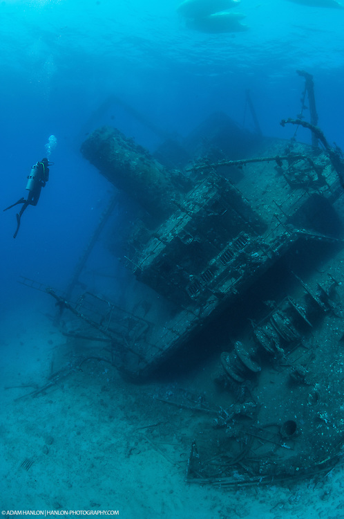Taking in the wreck of the Ghianis D.