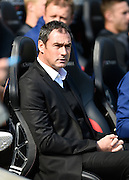 Derby manager Paul Clement during the Sky Bet Championship match between Milton Keynes Dons and Derby County at stadium:mk, Milton Keynes, England on 26 September 2015. Photo by David Charbit.