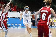 DESCRIZIONE : Riga Latvia Lettonia Eurobasket Women 2009 Qualifying Round Italia Turchia Italy Turkey<br /> GIOCATORE : simona ballardini<br /> SQUADRA : Italia Italy<br /> EVENTO : Eurobasket Women 2009 Campionati Europei Donne 2009 <br /> GARA : Italia Turchia Italy Turkey<br /> DATA : 12/06/2009 <br /> CATEGORIA : palleggio<br /> SPORT : Pallacanestro <br /> AUTORE : Agenzia Ciamillo-Castoria/E.Castoria