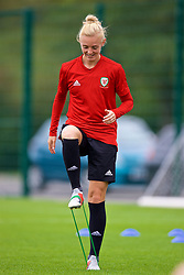 NEWPORT, WALES - Tuesday, August 28, 2018: Wales' captain Sophie Ingle during a training session at Dragon Park ahead of the final FIFA Women's World Cup 2019 Qualifying Round Group 1 match against England. (Pic by David Rawcliffe/Propaganda)