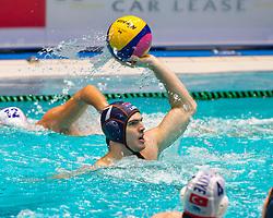 21-01-2012 WATERPOLO: EC NETHERLANDS - TURKEY: EINDHOVEN<br /> European Championships Netherlands - Turkey / Lars Gottemaker<br /> (c)2012-FotoHoogendoorn.nl / Peter Schalk