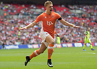 Football - 2017 Sky Bet [EFL] League Two Play-Off Final - Blackpool vs. Exeter City<br /> <br />  <br /> at Wembley.<br /> <br /> COLORSPORT/DANIEL BEARHAM