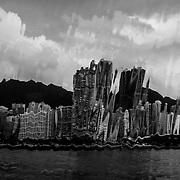 Hong Kong, 08/05/2016. Hong Kong Bay.