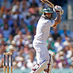 22/07/2012 London, England. South Africa's Hashim Amla during the Investec cricket international test match between England and South Africa, played at the Kia Oval cricket ground: Mandatory credit: Mitchell Gunn