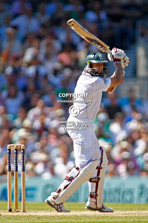 22/07/2012 London, England. South Africa's Hashim Amla during the Investec cricket international test match between England and South Africa, played at the Kia Oval cricket ground: Mandatory credit: Mitchell Gunn