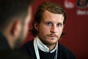 ARLANDA, SWEDEN - MARCH 21: Erik Friberg of BK Hacken during the Allsvenskan Kick-Off Meeting at Clarion Hotel Arlanda on March 21, 2018 in Arlanda, Sweden. Photo by Nils Petter Nilsson/Ombrello ***BETALBILD***