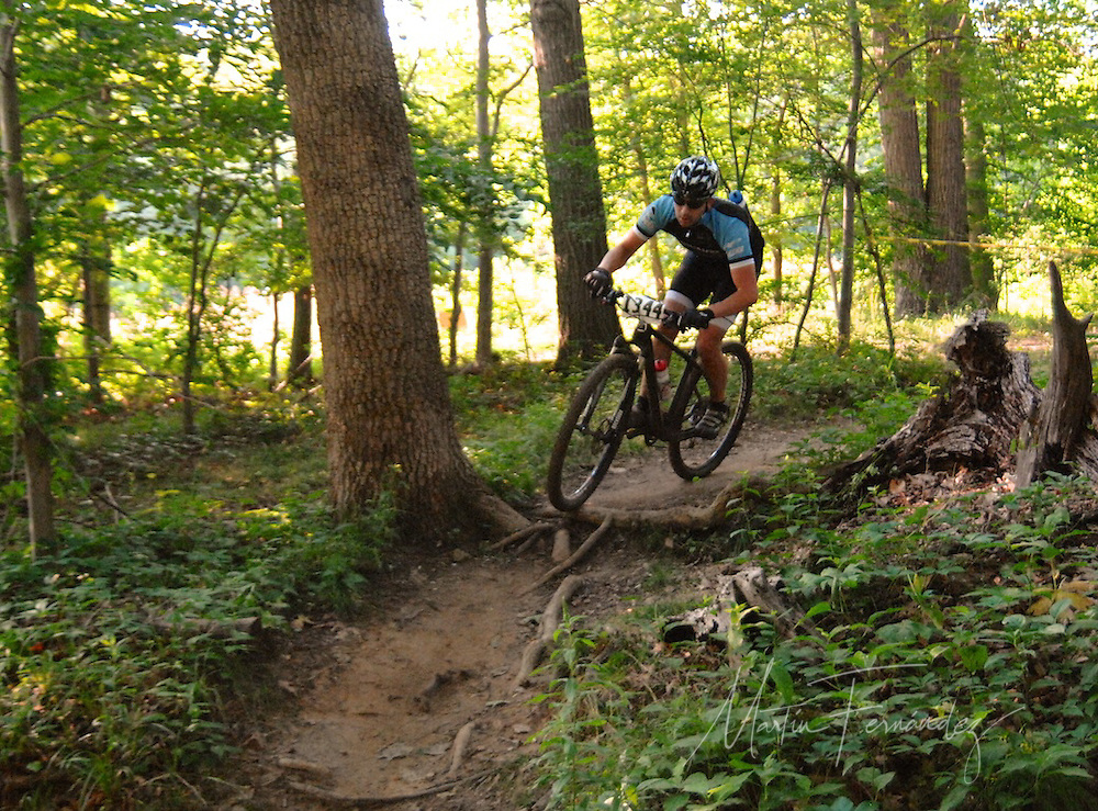 "Riders of all ages participated in the first ""Wednesday's at Wakefiled"" Mountain Bike Races at Wakefield Park in Annandale, VA"