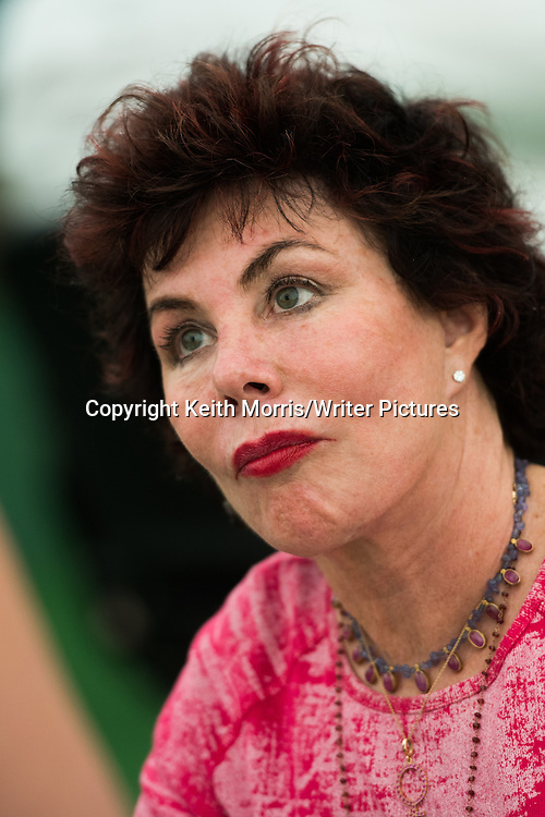 Ruby Wax, American actress, mental health campaigner, lecturer, and author,  taling about her book 'A Mindfulness Guide for the Frazzled' at The Hay Festival of Literature and the Arts, May-June 2016<br /> <br /> Picture by Keith Morris/Writer Pictures