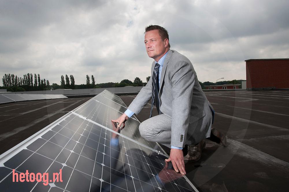 nederland,elst,18juni2012 Allard Dijkstra directeur van Atama-SolarEnergy foto: Cees Elzenga/hetoog.nl