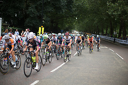 Joelle Numainville (CAN) of Cervélo-Bigla Cycling Team rides mid-pack during the Prudential RideLondon Classique, a 66 km road race in London on July 30, 2016 in the United Kingdom.