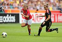 Fotball , EM , Norge - Tyskland 28.juli 2013 , kvinner ,  Sverige , Stockholm , Solna , europamesterskap, finale<br /> Maren Mjelde<br /> Foto: Ole Marius Fjalsett