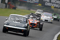 #118 Flewitt / Myers Lotus Elan 1558 during the CSCC Meteor Suspension Open Series at Oulton Park, Little Budworth, Cheshire, United Kingdom. October 15 2016. World Copyright Peter Taylor/PSP. <br /> Copy of publication required for printed pictures.  Every used picture is fee-liable. http://archive.petertaylor-photographic.co.uk