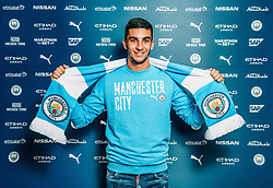 MANCHESTER, ENGLAND - Tuesday, August 4, 2020: Manchester City FC's new signing Ferran Torres pictured following his transfer from Spain's La Liga side Valencia CF. This is a handout picture. (Credit: Manchester City FC)