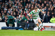 Celtic midfielder James Forrest (#49) in action during the Scottish Cup final match between Aberdeen and Celtic at Hampden Park, Glasgow, United Kingdom on 27 November 2016. Photo by Craig Doyle.