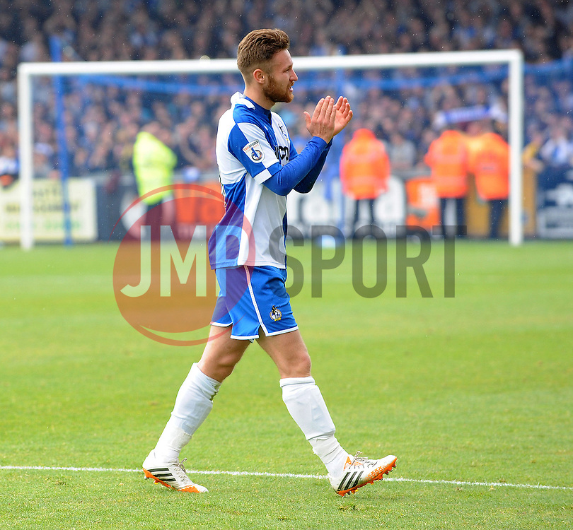 Bristol Rovers' Matty Taylor - Photo mandatory by-line: Neil Brookman/JMP - Mobile: 07966 386802 - 03/05/2015 - SPORT - Football - Bristol - Memorial Stadium - Bristol Rovers v Forest Green Rovers - Vanarama Football Conference