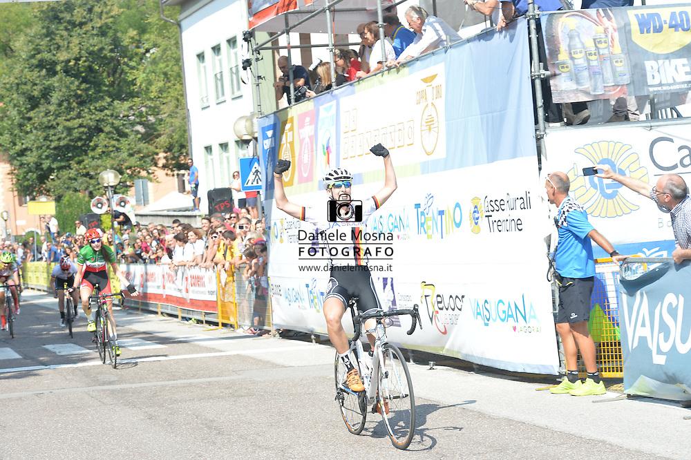 Ciclismo giovanile, 17A Coppa Rosa, Borgo Valsugana 10 settembre 2016<br /> Prima Classificata: Kock Franziska<br />  © foto Daniele Mosna