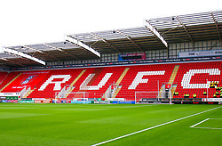 A general view of the Aesseal New York Stadium, home to Rotherham United - Mandatory by-line: Ryan Crockett/JMP - 31/08/2019 - FOOTBALL - Aesseal New York Stadium - Rotherham, England - Rotherham United v Tranmere Rovers - Sky Bet League One