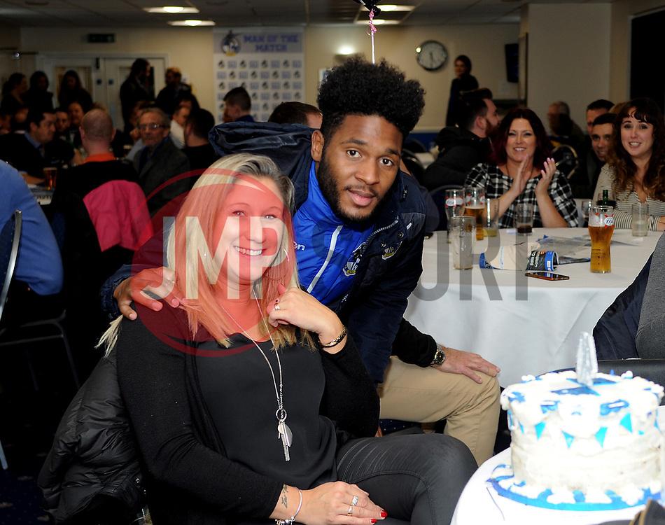 Birthday celebrations - Mandatory by-line: Neil Brookman/JMP - 18/11/2017 - FOOTBALL - Memorial Stadium - Bristol, England - Bristol Rovers v AFC Wimbledon - Sky Bet League One