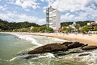 Praia de Cabeçudas. Itajaí, Santa Catarina, Brasil. / Cabecudas Beach. Itajai, Santa Catarina, Brazil.