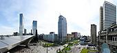 Skyline van Rotterdam vanaf Groot Handelsgebouw