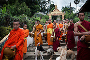 Buddhist Vat Chome Khaou Maniratn Temple in Bokeo Lao
