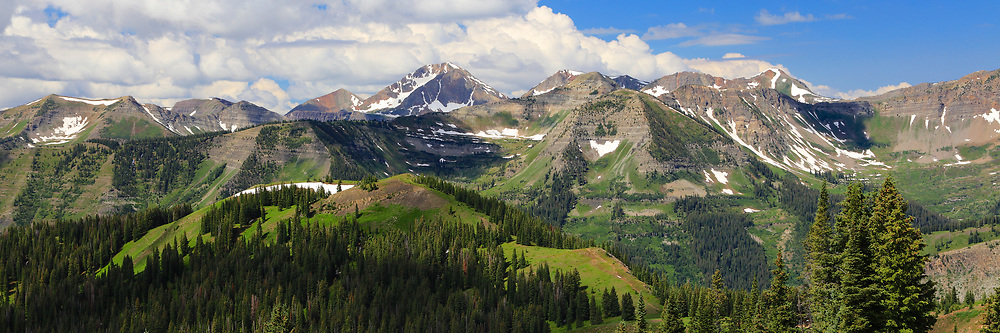Ruby Rage and Raggeds Wilderness from Crested Butte
