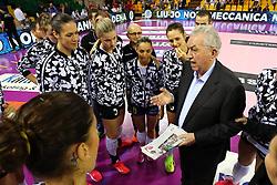 11-05-2017 ITA: Finale Liu Jo Modena - Igor Gorgonzola Novara, Modena<br /> Novara heeft de titel in de Italiaanse Serie A1 Femminile gepakt. Novara was oppermachtig in de vierde finalewedstrijd. Door een 3-0 zege is het Italiaanse kampioenschap binnen. / CERCIELLO<br /> <br /> ***NETHERLANDS ONLY***