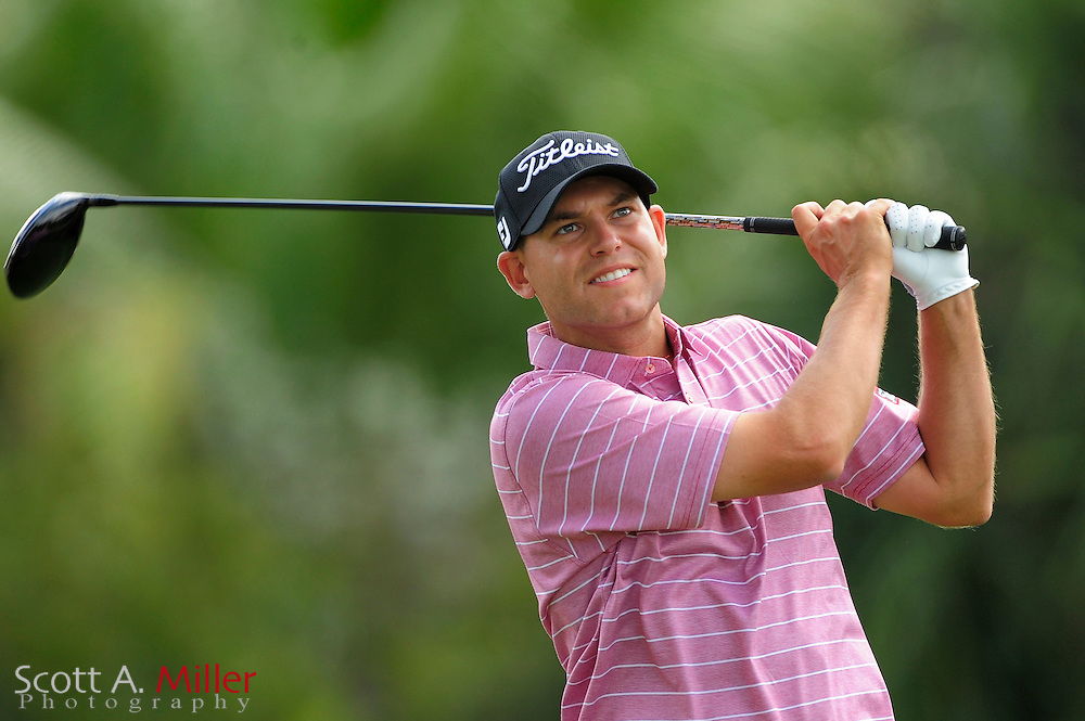Bill Haas during the final round of the World Golf Championship Cadillac Championship on the TPC Blue Monster Course at Doral Golf Resort And Spa on March 11, 2012 in Doral, Fla. ..©2012 Scott A. Miller.