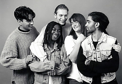 Young people, Nottingham UK 1994