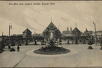 Hrv.-Slav. zem. gospod. izložba, Zagreb 1906.  <br /> <br /> ImpresumZagreb : Naklada papirnice A. Brusina, 1905.<br /> Materijalni opis1 razglednica : tisak ; 8,7 x 13,8 cm.<br /> SuradnikMosinger, Rudolf(1865.–1918.)<br /> NakladnikTiskara A. Brusina<br /> Mjesto izdavanjaZagreb<br /> Vrstavizualna građa • razglednice<br /> ZbirkaZbirka razglednica • Grafička zbirka NSK<br /> Formatimage/jpeg<br /> PredmetZagreb –– Grge Martića<br /> SignaturaRZG-MART-1<br /> Obuhvat(vremenski)20. stoljeće<br /> NapomenaRazglednica je putovala 1906. godine. • U lijevom donjem kutu poleđine razglednice otisnut je monogram Rudolfa Mosingera.<br /> PravaJavno dobro<br /> Identifikatori000954487<br /> NBN.HRNBN: urn:nbn:hr:238:843777 <br /> <br /> Izvor: Digitalne zbirke Nacionalne i sveučilišne knjižnice u Zagrebu