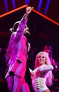 ORLANDO, FL - MAY 20:  Maluma performs at Amway Center on May 20, 2018 in Orlando, Florida.  (Photo by Gerardo Mora/ IPAPHOTO.COM)
