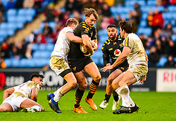 Josh Bassett of Wasps - Mandatory by-line: Dougie Allward/JMP - 18/01/2020 - RUGBY - Ricoh Arena - Coventry, England - Wasps v Bordeaux-Begles - European Rugby Challenge Cup