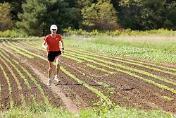 Joan Benoit Samuelson training, organic farm signs reflect her 'sustainability' ethos