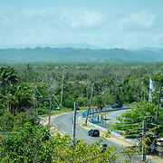 JULY 21, 2018---ARECIBO, PUERTO RICO---<br /> View of the Tiburones Water Reserve in Arecibo on the North of the island. An electrical company station is seen to the right of the image.<br /> (Photo by Angel Valentin/Freelance)