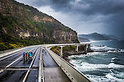 Sea Cliff Bridge, Woollongong April 2014